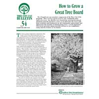 How to Grow A Great Tree Board