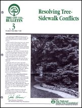 Resolving Tree-Sidewalk Conflicts