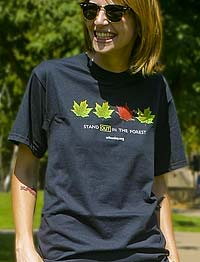 Stand Out in the Forest T-shirt