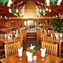 The Timber Dining Room at Lied Lodge