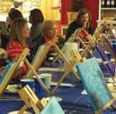 Painting Party at the Apple House Market