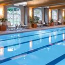 Olympic-sized indoor pool at Lied Lodge