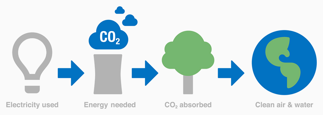 Gas Station Close By >> About Carbon Offsets - The Arbor Day Foundation